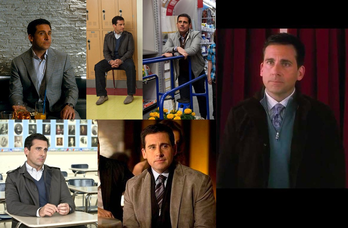 steve carell after style transformation crazy stupid love
