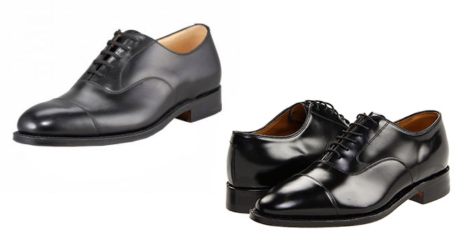 "black cap toe Six Affordable Alternatives to ""Definitive"" Shoes"