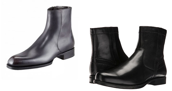 "black zip boot Six Affordable Alternatives to ""Definitive"" Shoes"