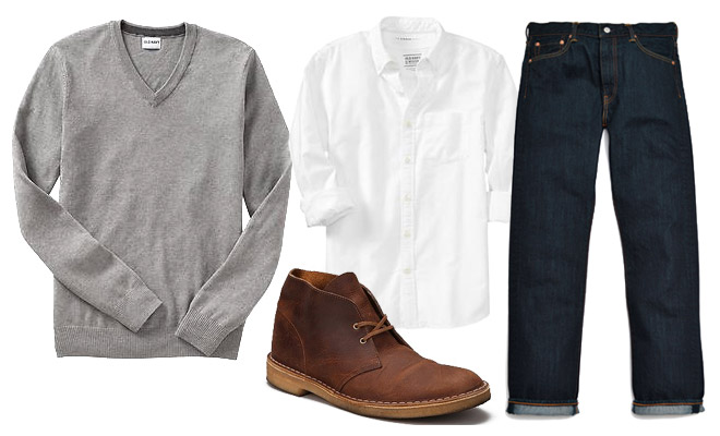 Five Ways to Wear One: The V-Neck Sweater · Effortless Gent