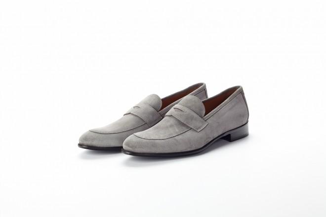 gray suede