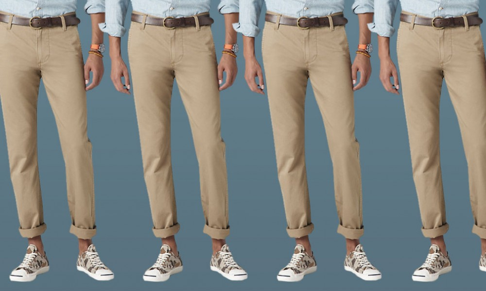 325ad120022 Five Ways To Wear One  Tan (Khaki) Chinos · Effortless Gent