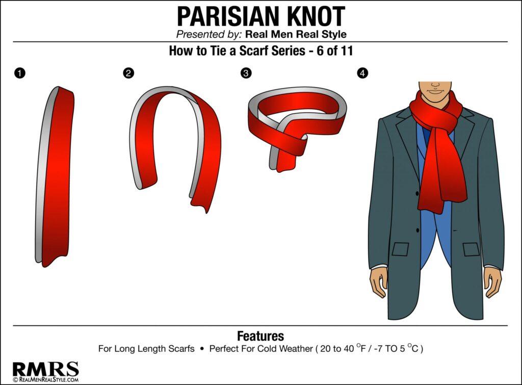 Parisian Knot - realmenrealstyle.com