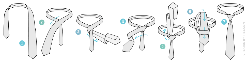 how-to-tie-the-four-in-hand-knot-tying-instructions