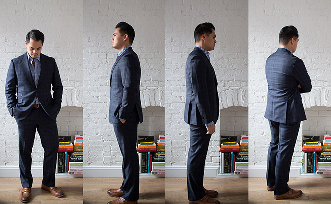 MTM Showdown: Unboxing the Black Lapel Suit
