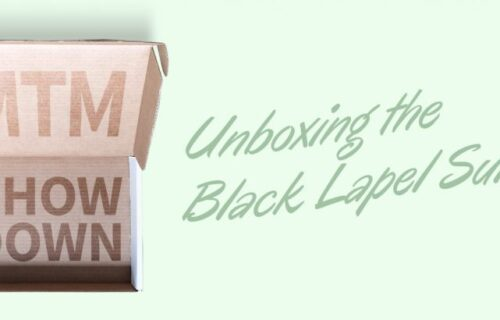 black lapel unboxing