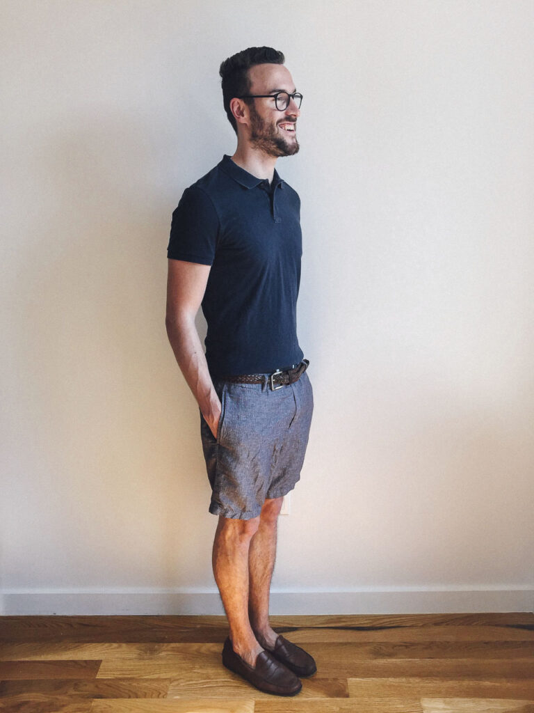 five ways to wear one: tailored fit shorts