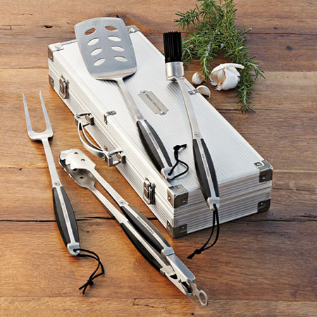 grilling set - fathers day gift guide 2015