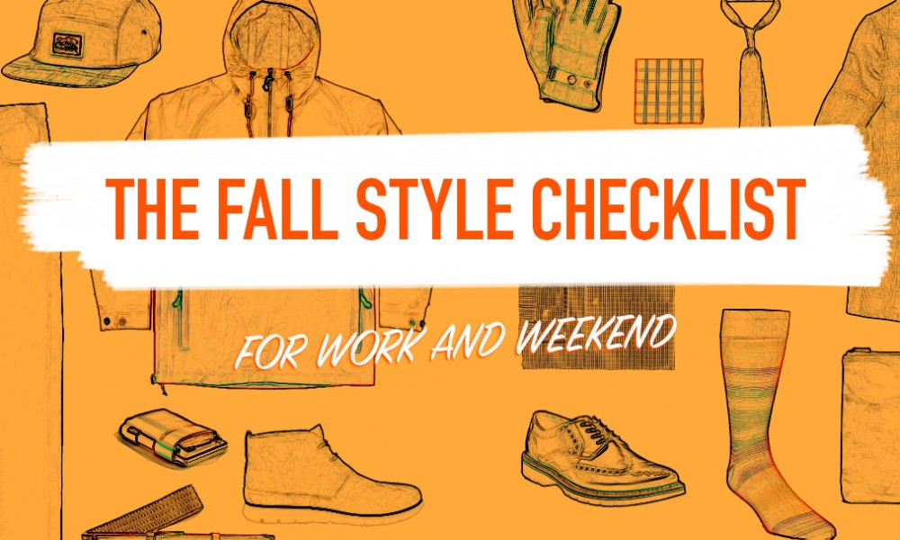 The Fall Style Checklist for Work and Weekend
