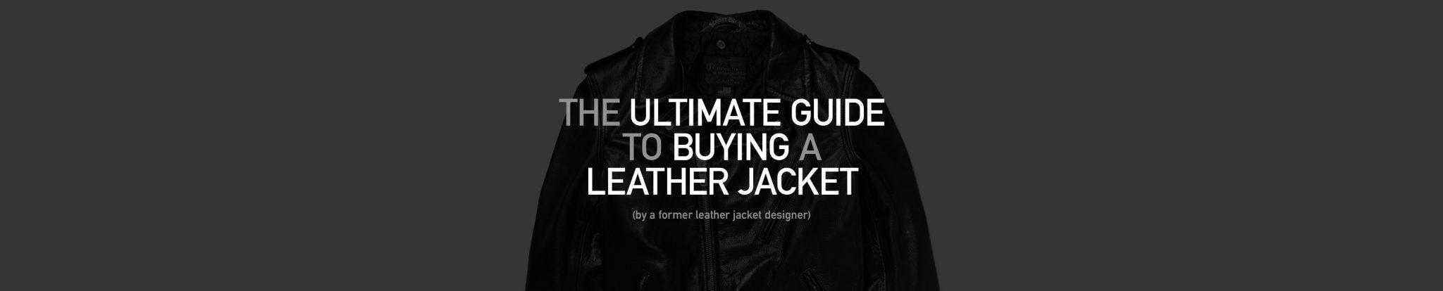 Recondition Leather Jacket Caffection