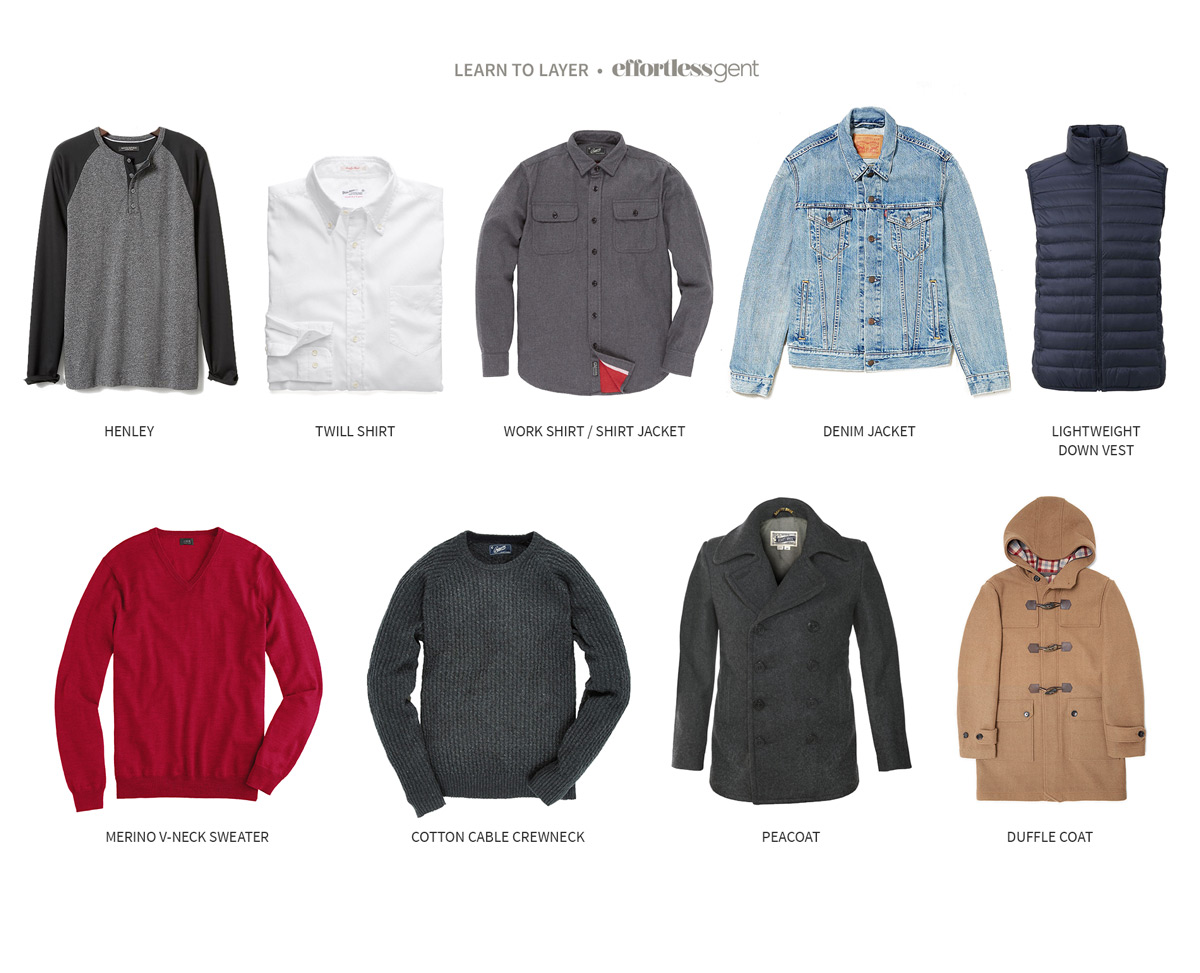 Layering Options For Winter - Effortless Gent