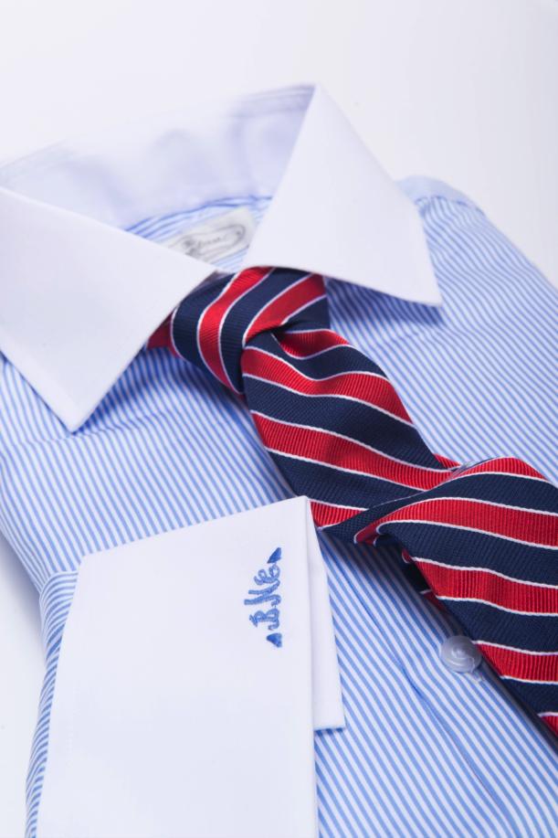 The Dark Knot's Canterbury Regimental Navy w/ Red Tie