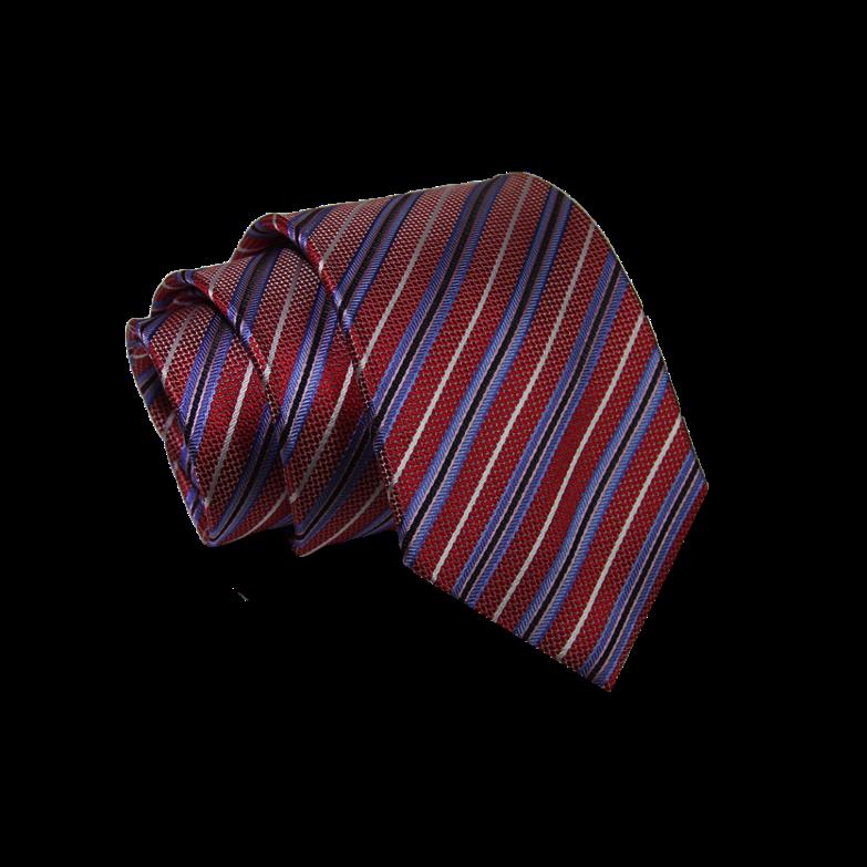 Repp striped tie