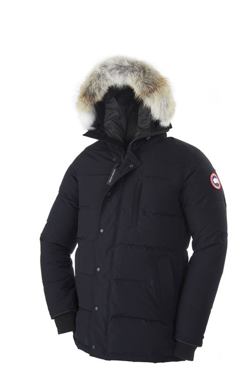 canada goose parka on effortless gent