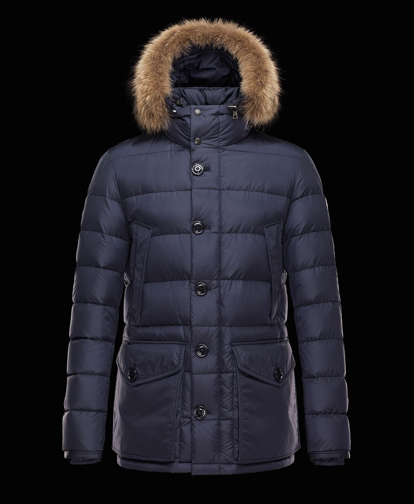 the Moncler down jacket on effortlessgent.com