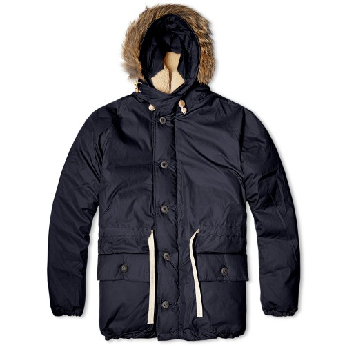 nigel cabourn everest parka on effortless gent