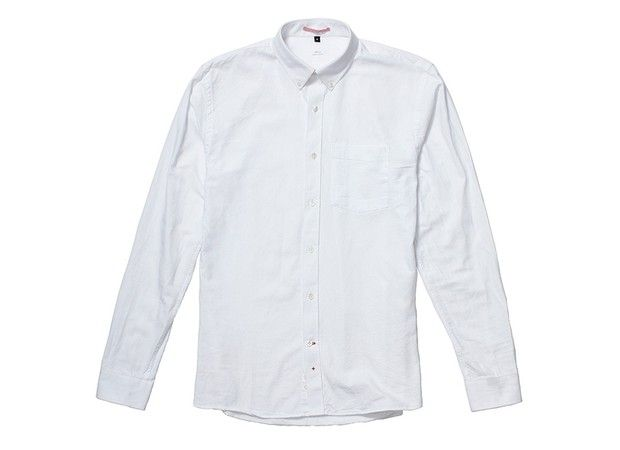 Apolis Washed Oxford Buttondown on Effortless Gent