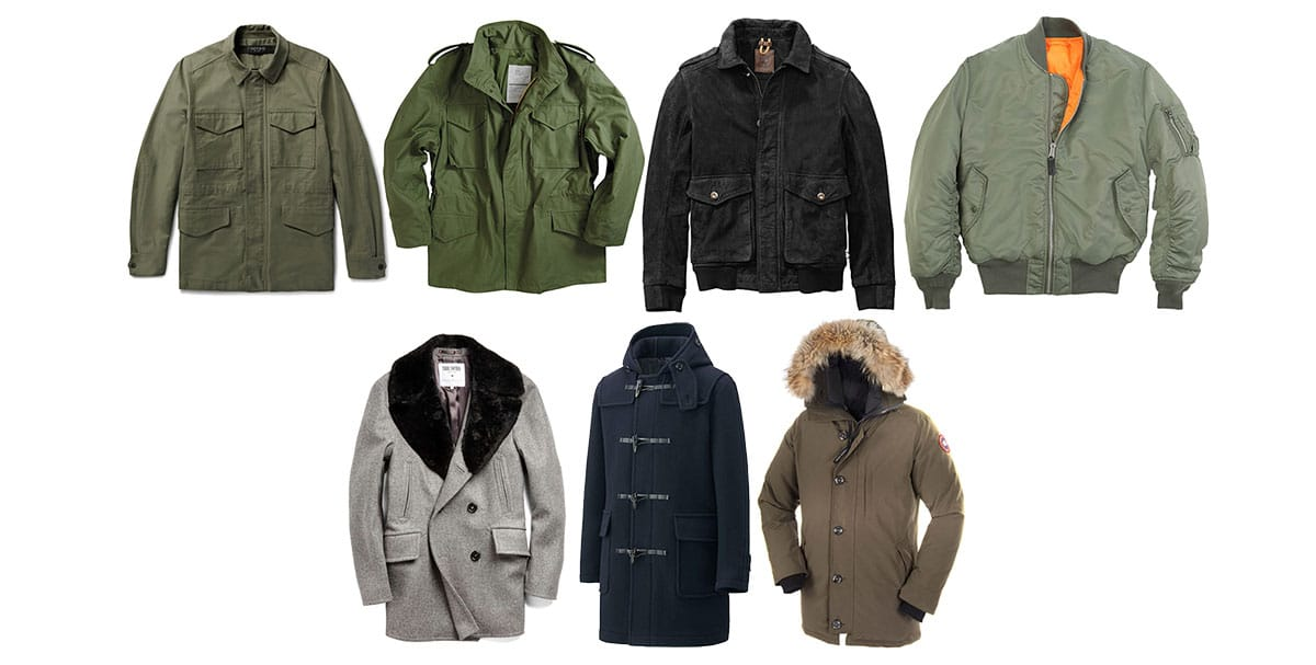 At Ease In All Conditions: A Guide to Military Jackets & Outerwear ...