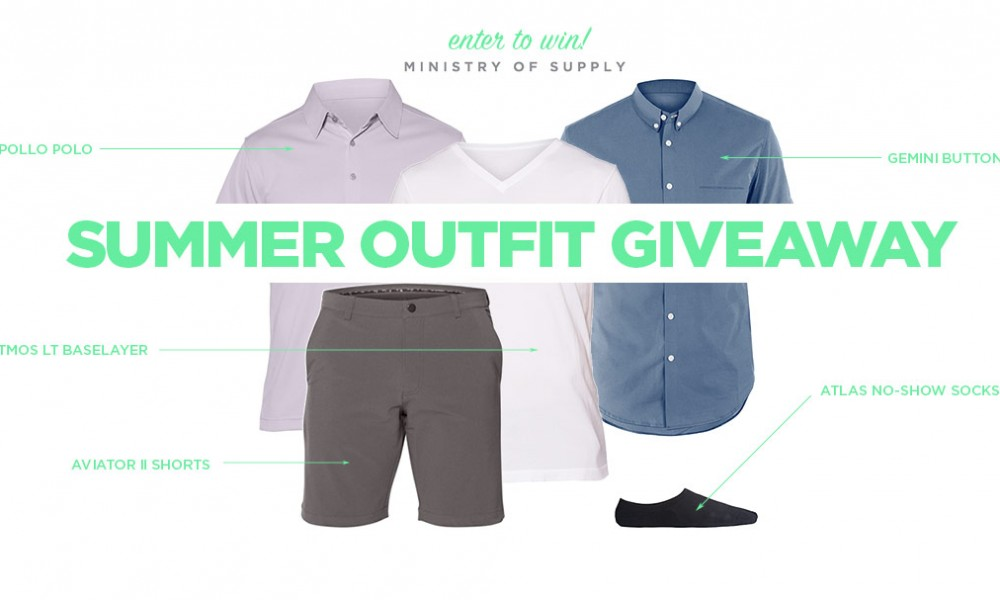 A Summer Outfit Giveaway courtesy of our friends at Ministry of Supply