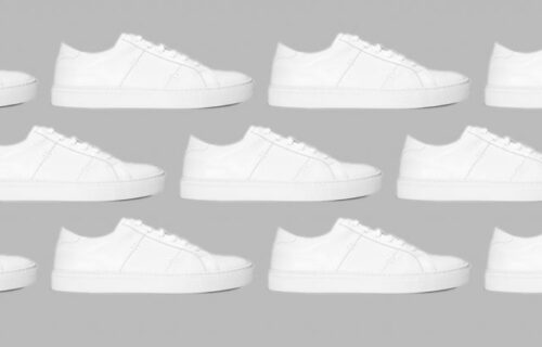 Five Ways to Wear One: White Sneakers