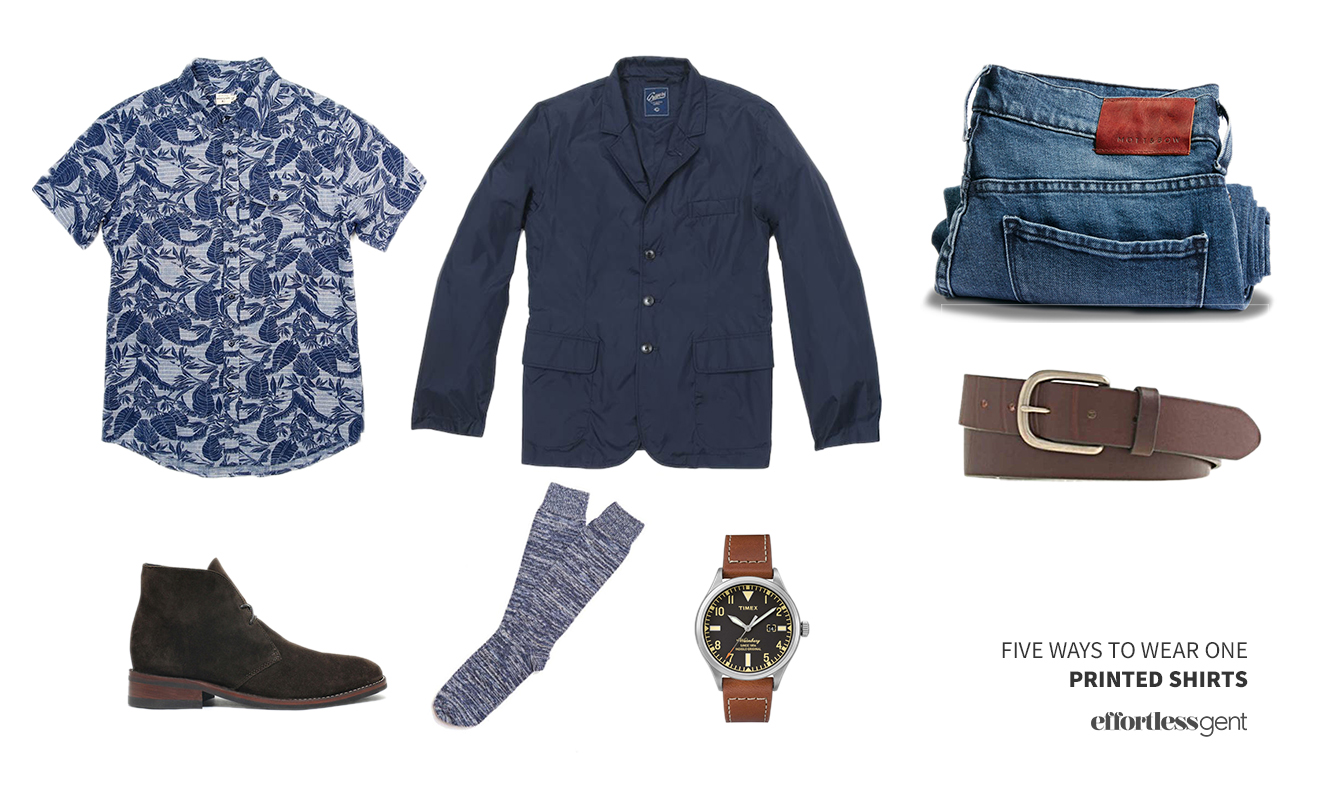 Five Ways to Wear One: Printed Shirts