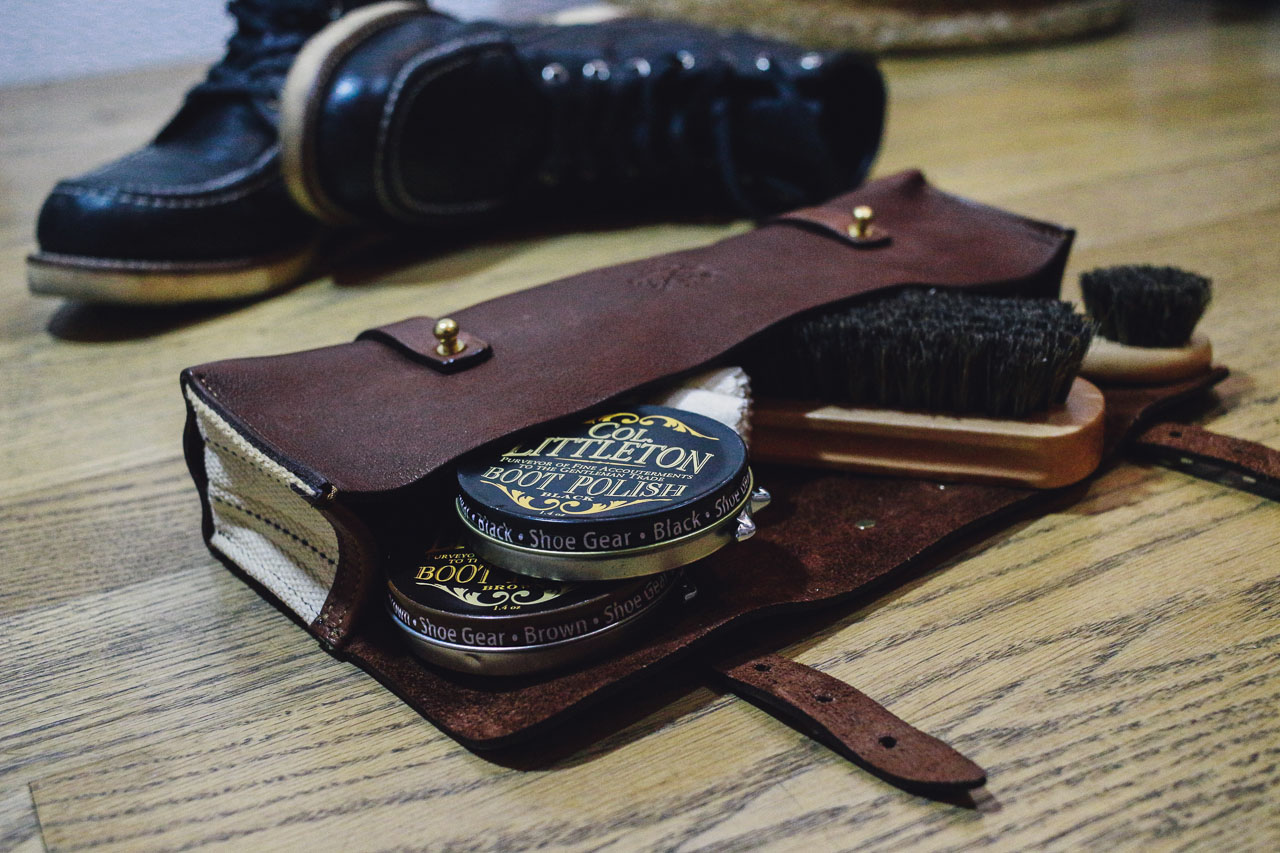 colonel littleton no.4 shoeshine kit