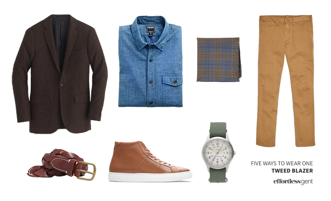Five Ways to Wear One: Tweed Jacket
