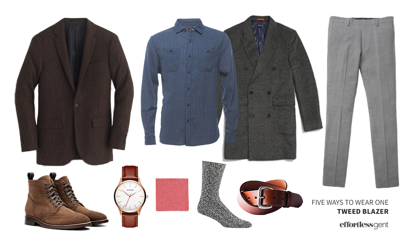 Five Ways to Wear One: Tweed Blazer