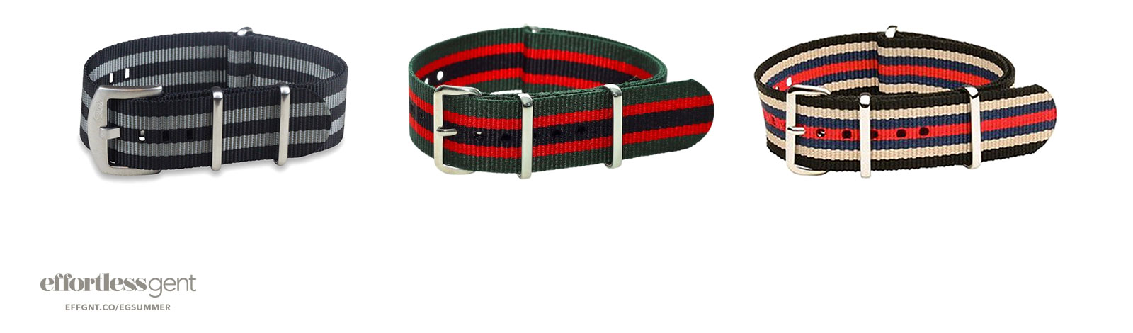 colorful nato watch straps for men