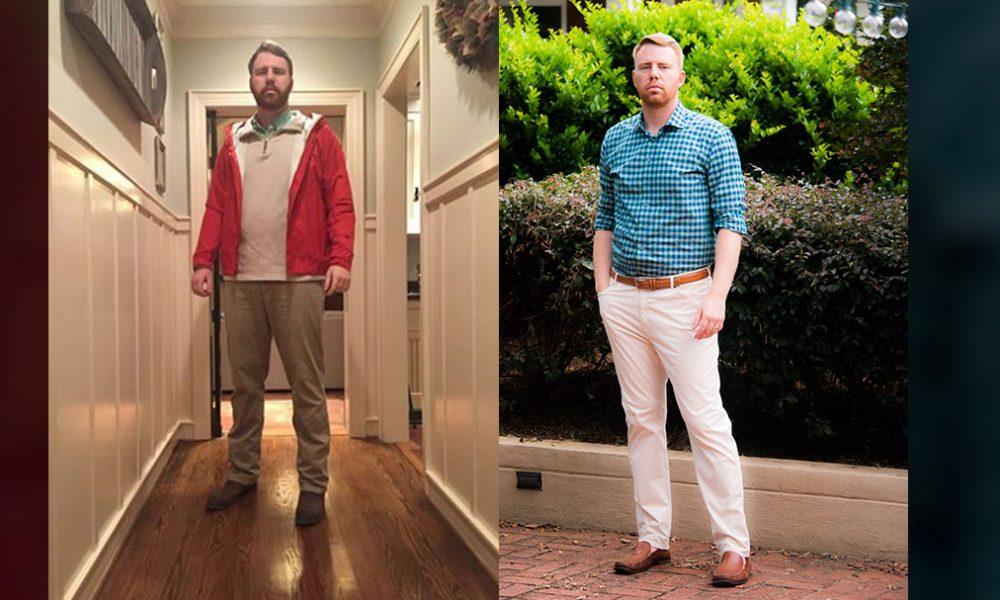 lean wardrobe success story justin