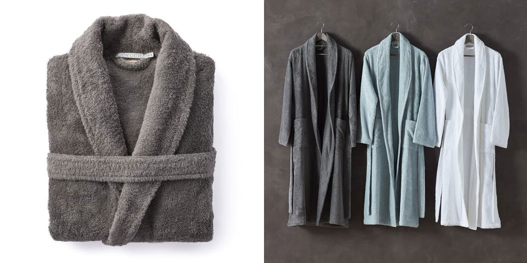 fall finds huckberry - coyuchi robe
