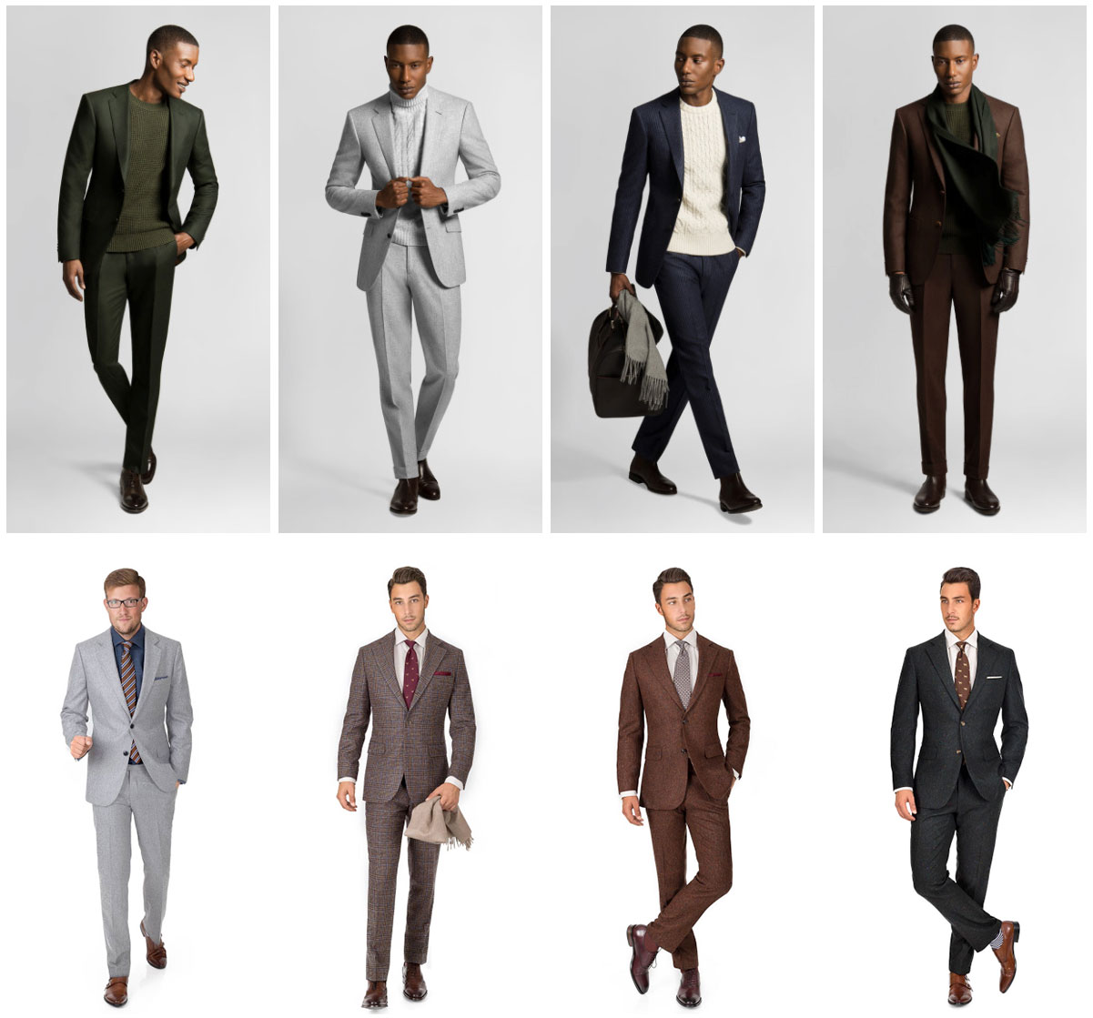 men's winter fashion - mtm winter suits
