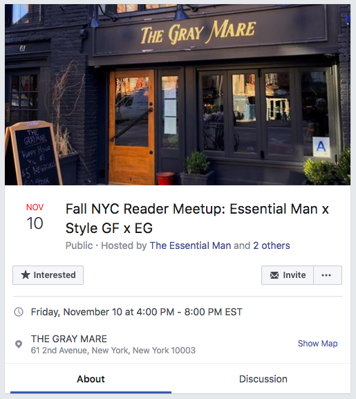 Fall Reader Meetup Effortless Gent Style Girlfriend The Essential Man