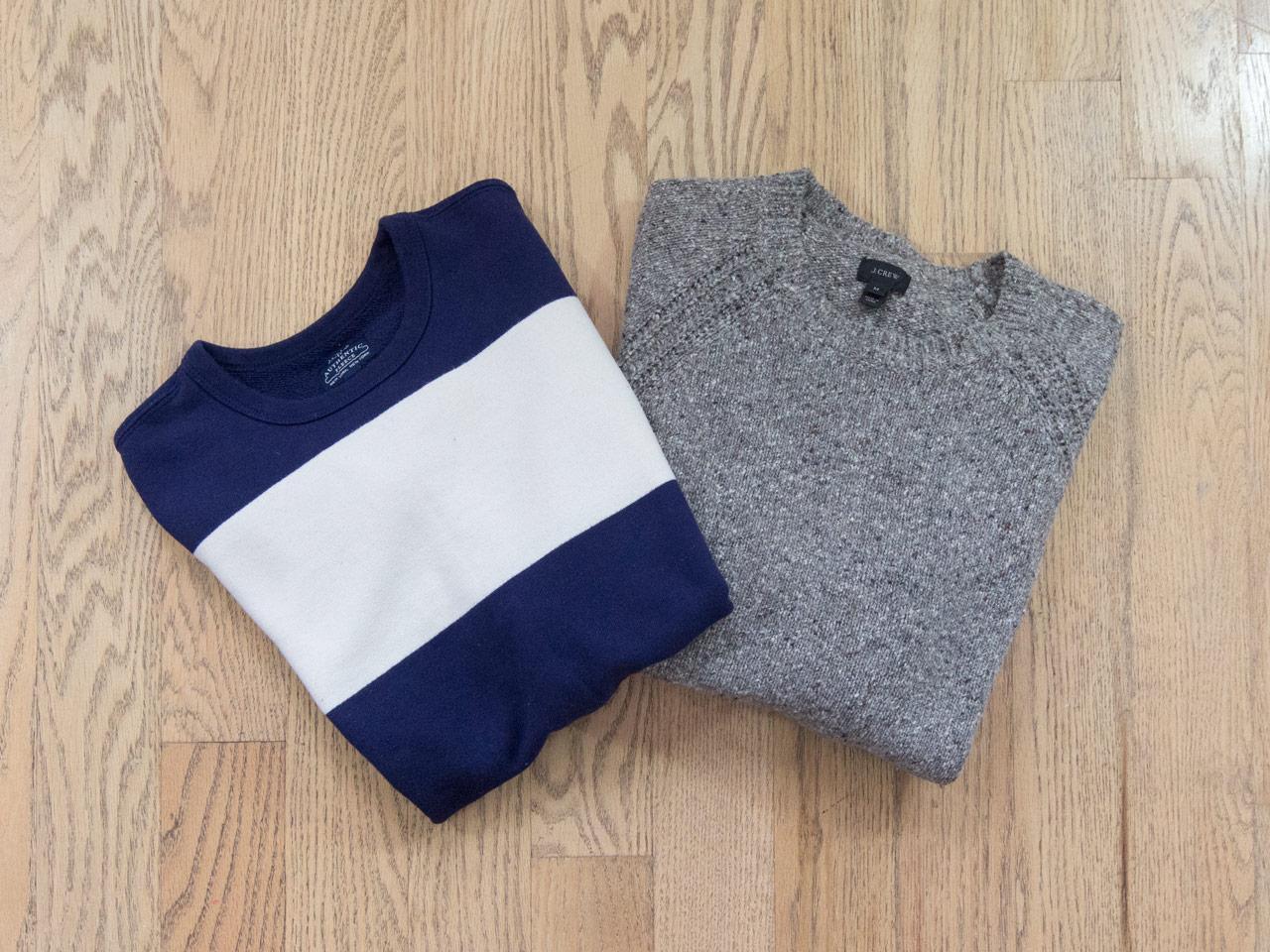 effortless essentials minimalist wardrobe - midlayers