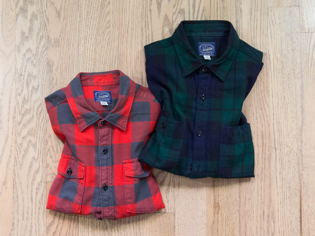effortless essentials minimalist wardrobe - plaid flannel shirts