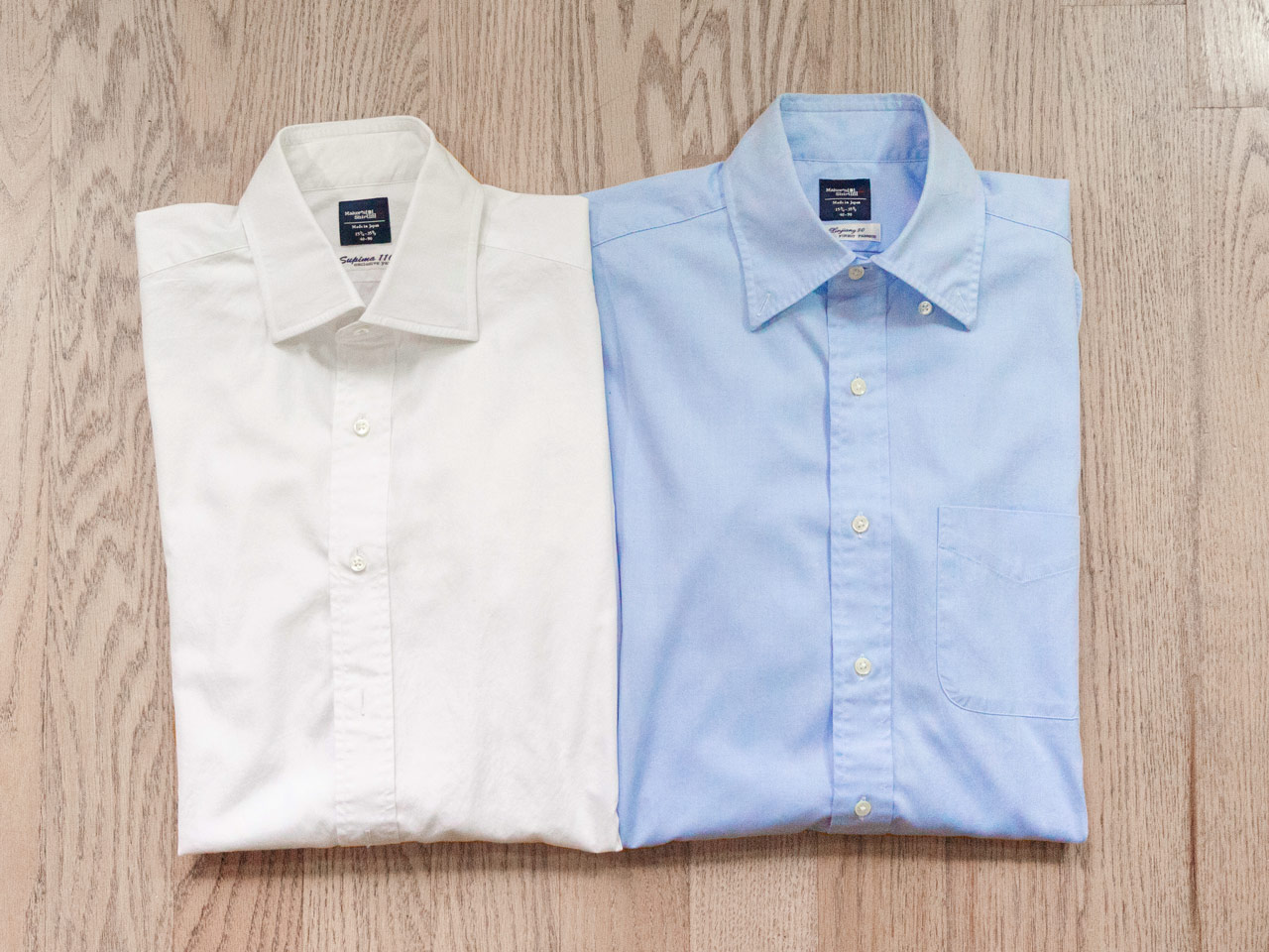 effortless essentials minimalist wardrobe - dress shirts