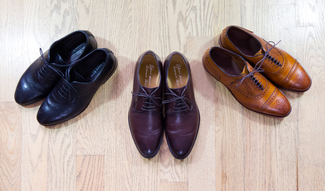 effortless essentials minimalist wardrobe - formal shoes