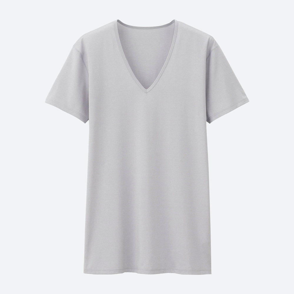 Uniqlo AIRism V-Neck Undershirt