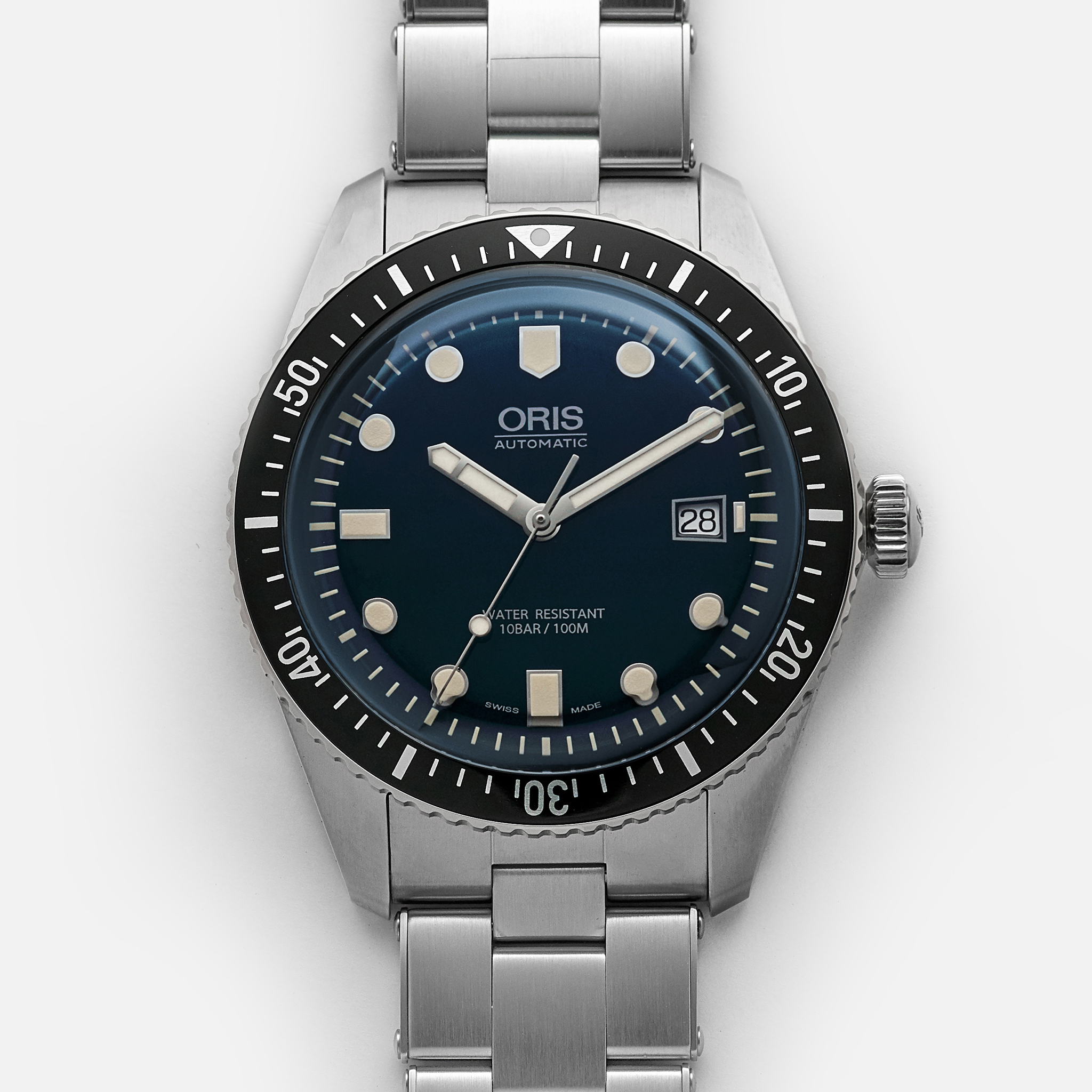 Oris Divers Sixty Five 42mm Blue Dial Hodinkee