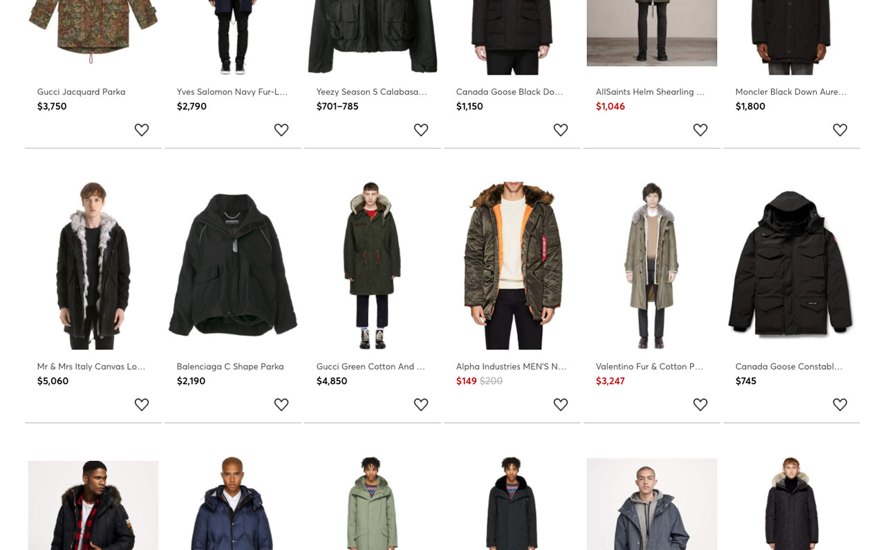 style shortcuts - help choosing a winter parka