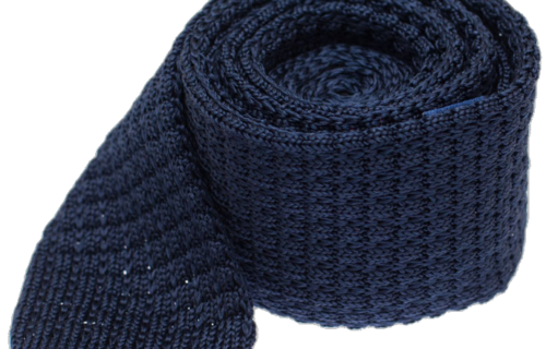 The Tie Bar Solid Textured Knit Tie