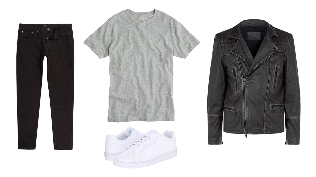 black denim outfit 1 - monochrome
