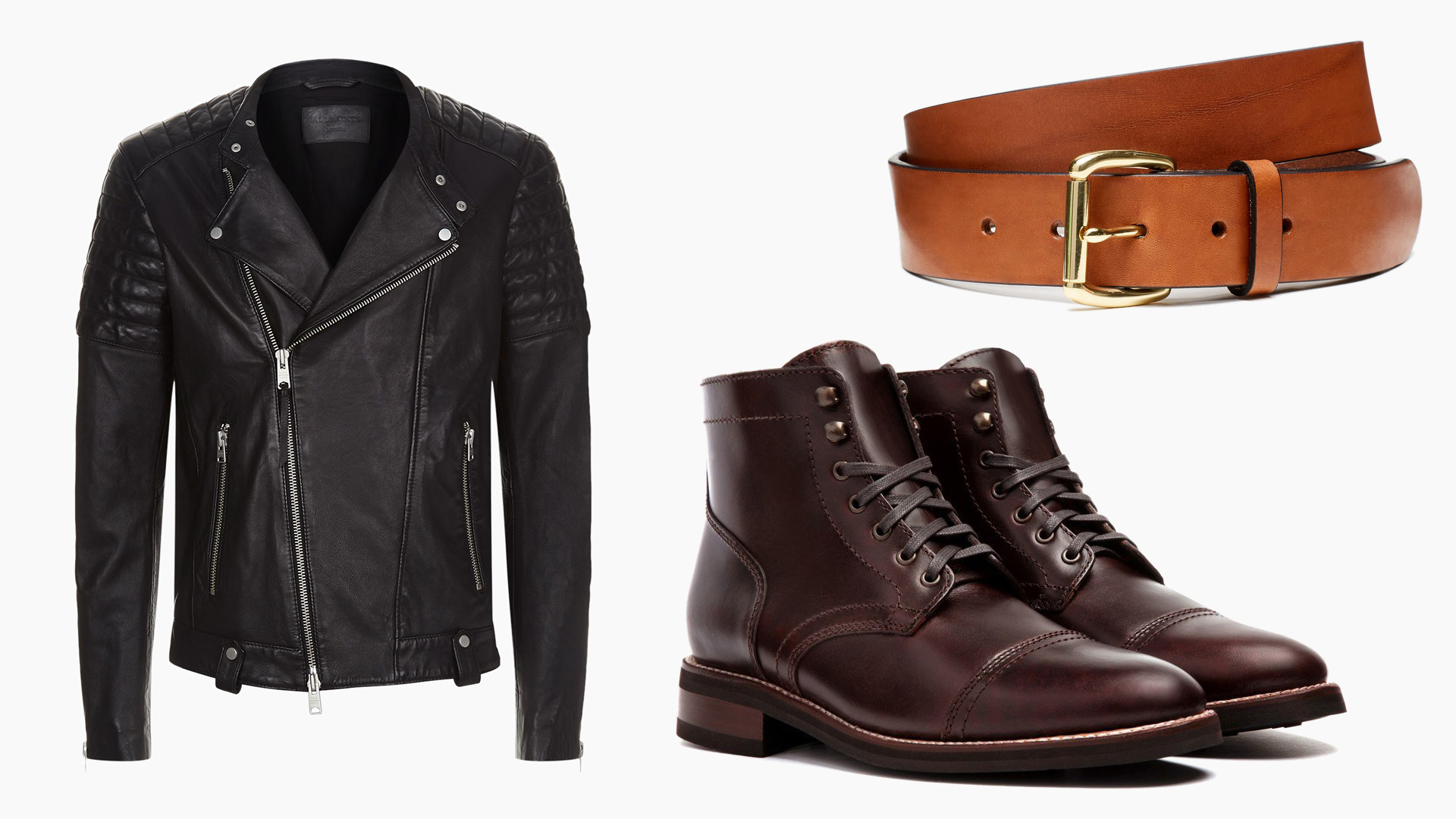 not matching brown and black leather