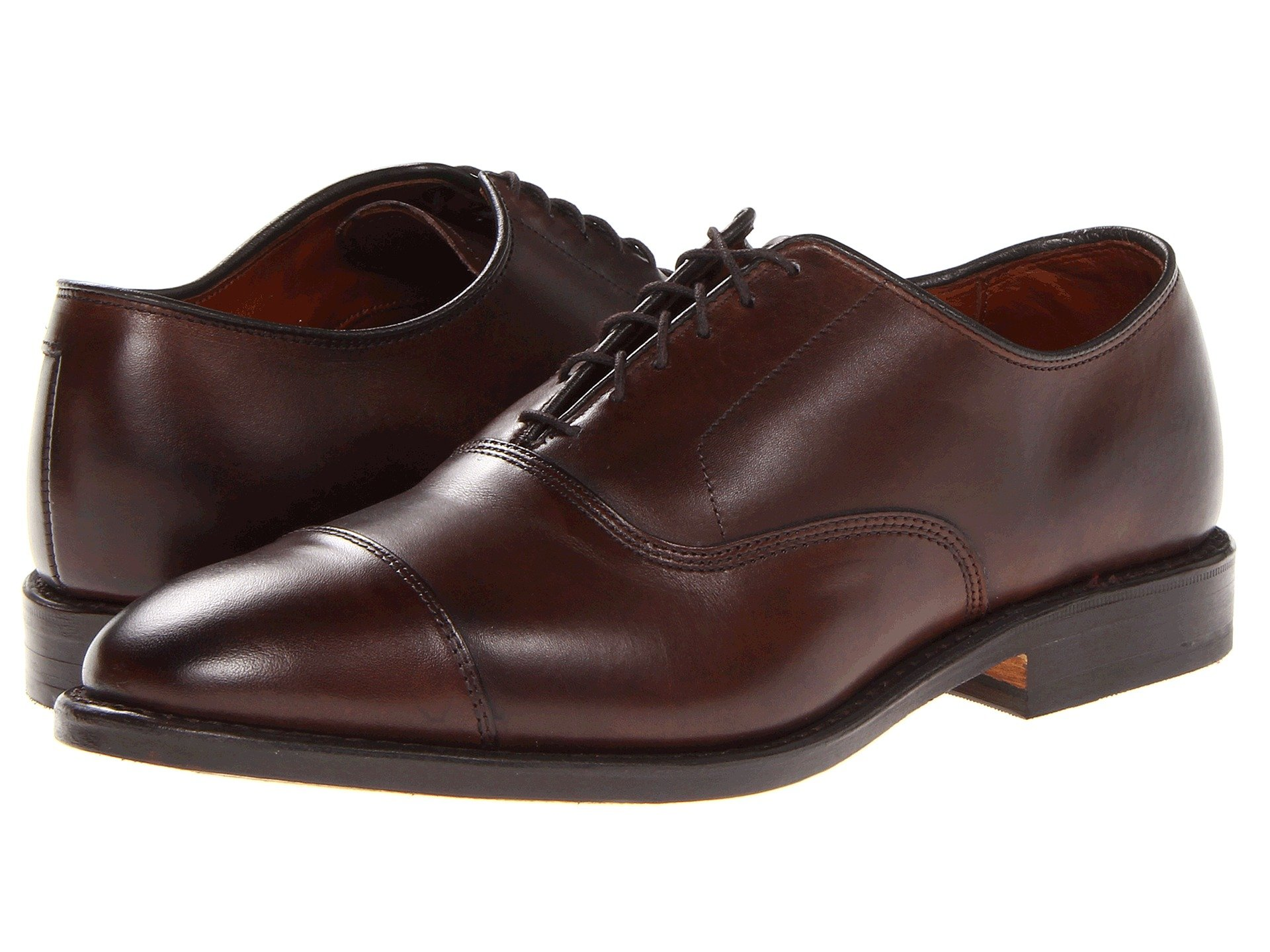 allen edmonds park ave in dark brown - ultimate guide to buying, wearing, and caring for brown dress shoes