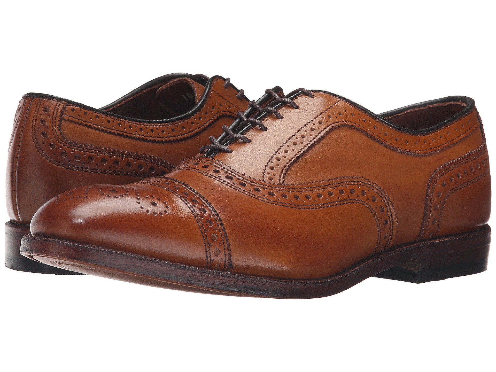 allen edmonds strand in cognac - ultimate guide to buying, wearing, and caring for brown dress shoes