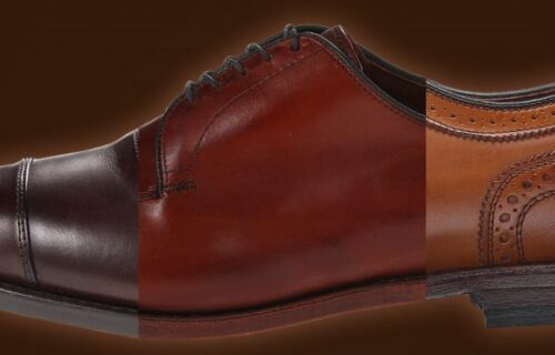 different color leather shoes - ultimate guide to brown dress shoes