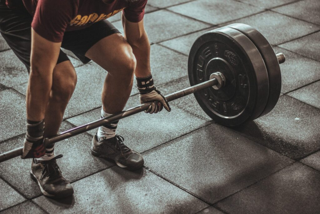 photo of deadlift