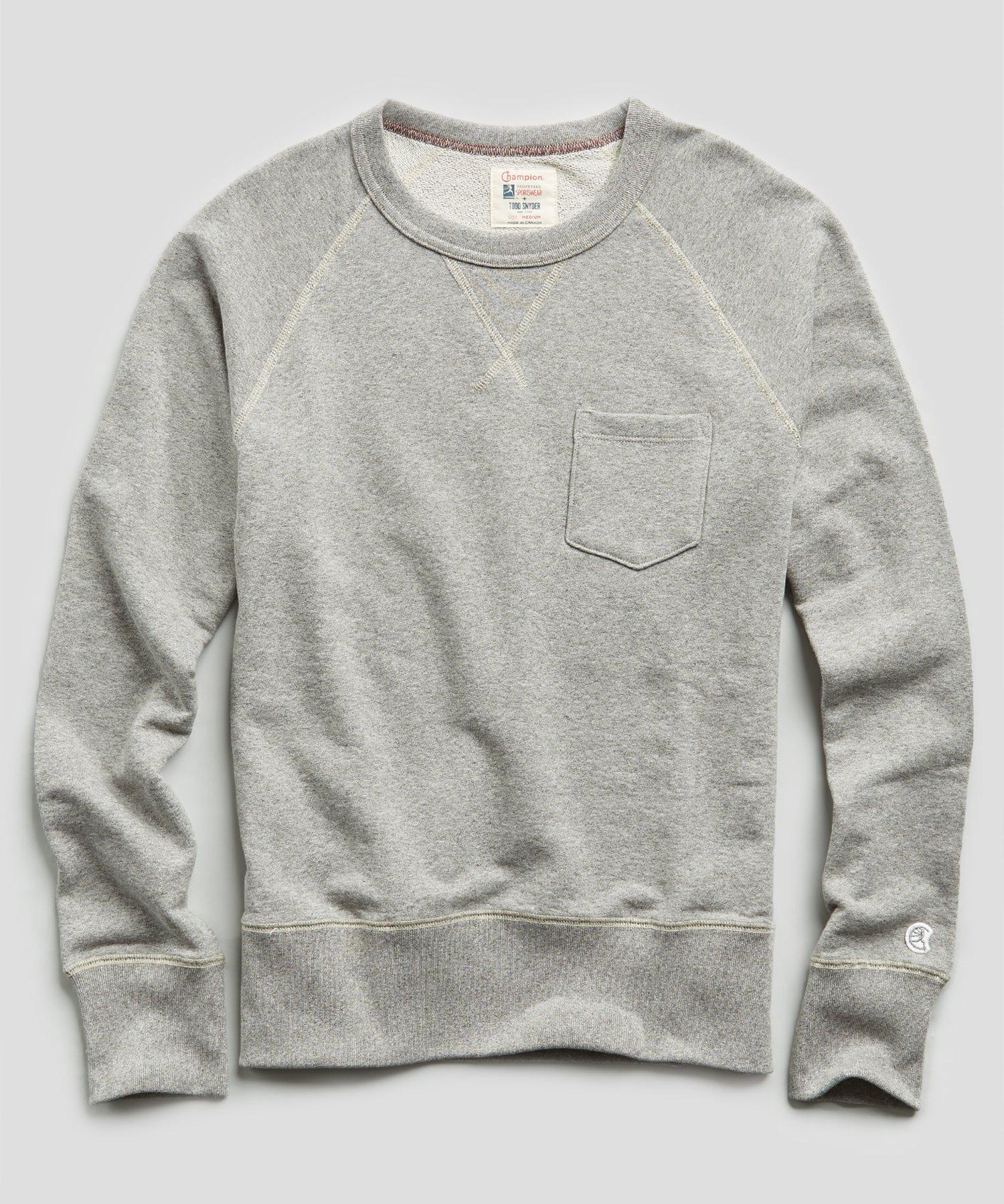 Todd Snyder Grey Crewneck Sweater