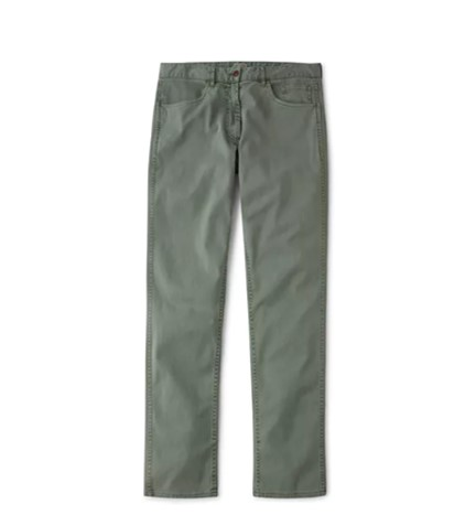 Faherty Brand Comfort Twill 5-Pocket Pants