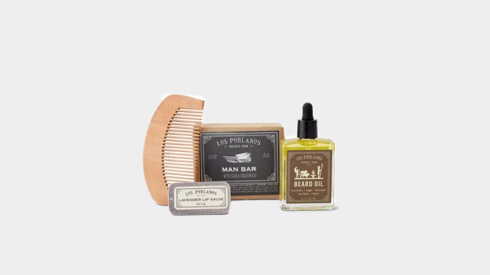 los poblanos beard box on huckberry